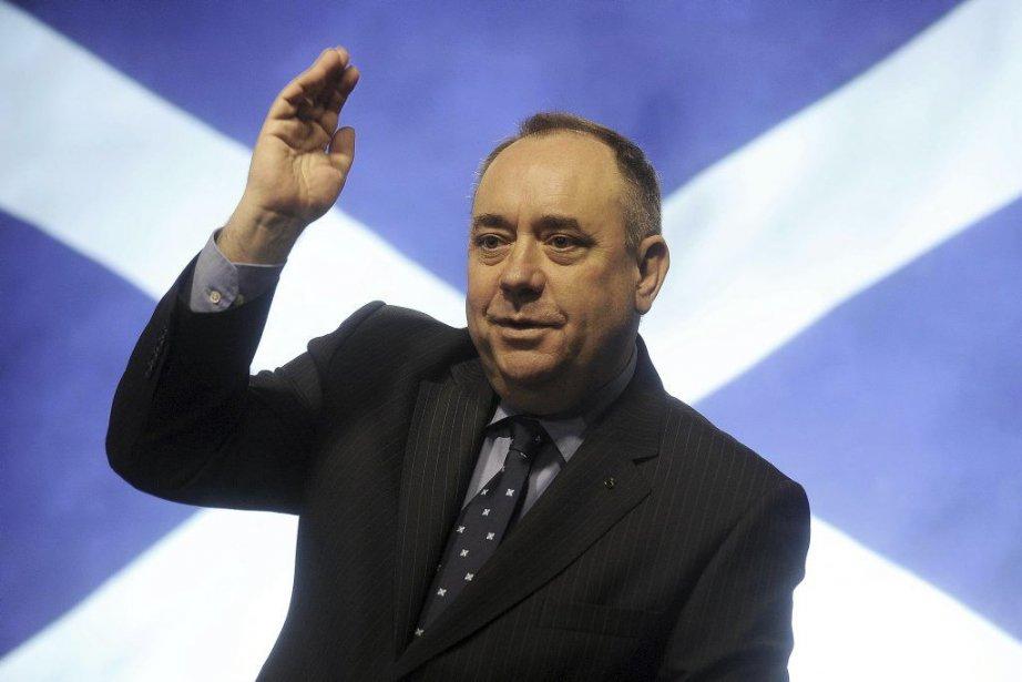 Alex Salmond... (PHOTO ANDY BUCHANAN, archives agence france-presse)