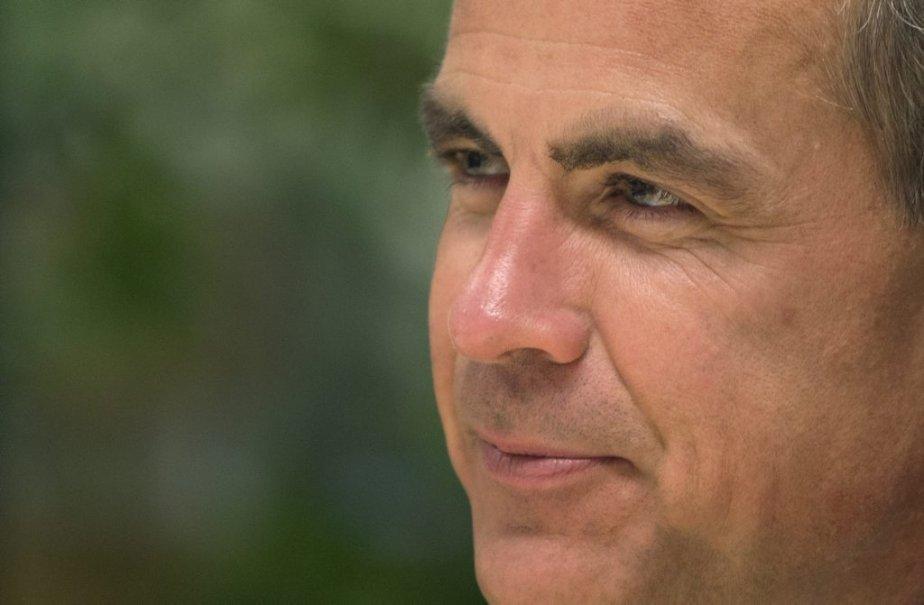 Le gouverneur de la Banque du Canada, Mark... (Photo Robert Skinner, La Presse)