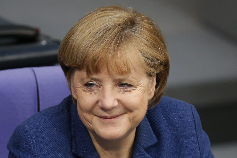 La chancelière allemande Angela Merkel... (Photo AP)