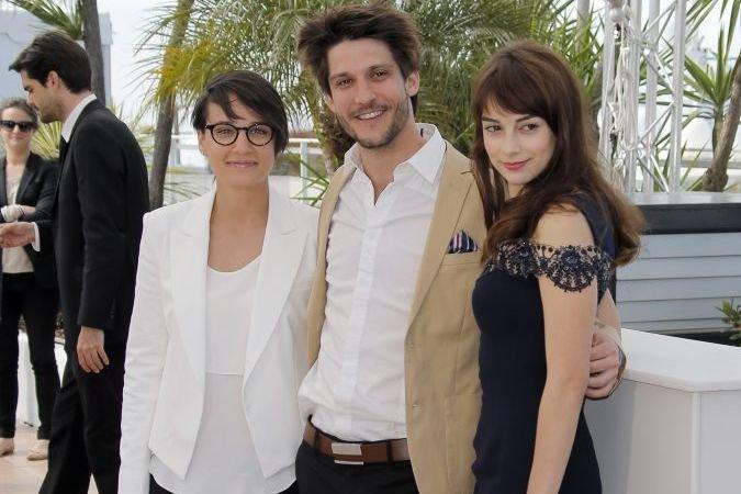 Chloé Robichaud, Jean-Sebastien Courchesne et Sophie Desmarais.... (Photo: AP)