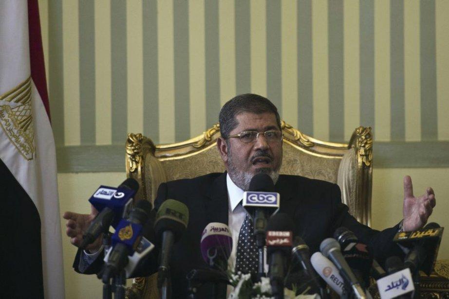Le président égyptien Mohamed Morsi.... (Photo Khaled Desouki, Agence France-Presse)