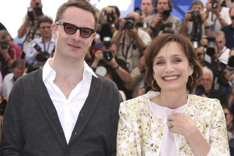 Le réalisateur Nicolas Winding Refn et son actrice... (Photo: AP)