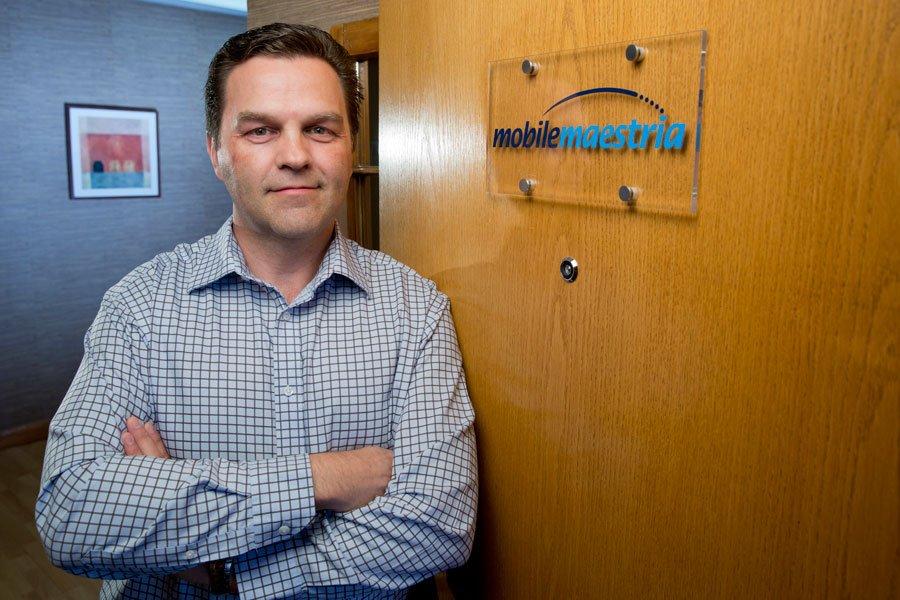 Normand Cyr, président-directeur général, Mobile Maestria.... (PHOTO DAVID BOILY, LA PRESSE)