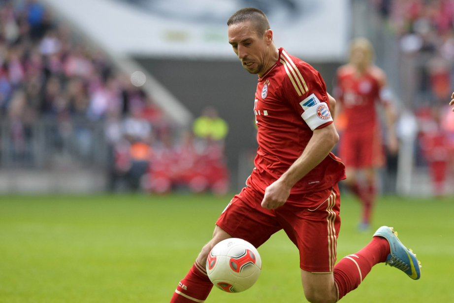 Franck Ribéry... (Photo Guenter Schiffmann, AFP)