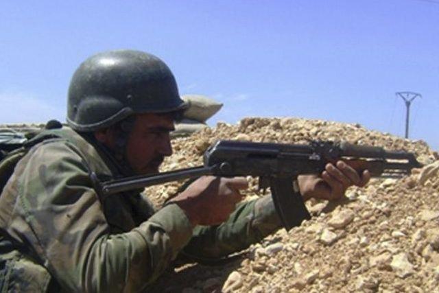 Un soldat syrien... (PHOTO AFP)