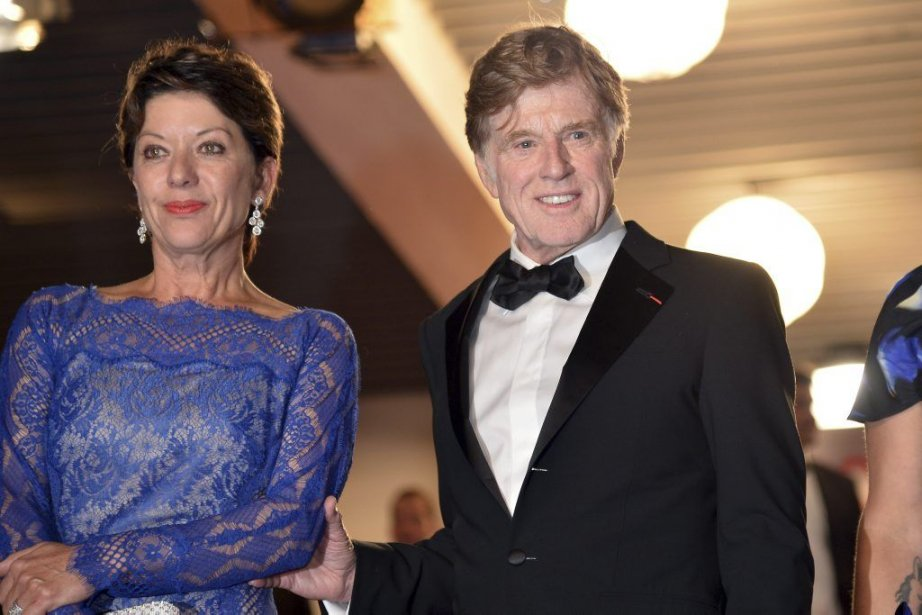 Robert Redford en compagnie de sa femme, Sibylle Szaggars, pour... | 2013-05-22 00:00:00.000