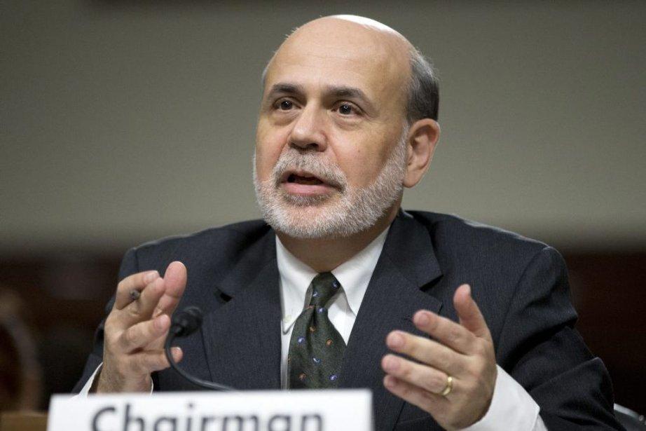 Le président de la Banque centrale américaine (Fed),Ben... (Photo Manuel Balce Ceneta, AP)