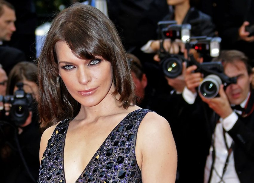 Milla Jovovich à la projection de «All is Lost». | 22 mai 2013
