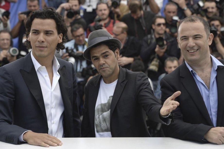 Les acteurs Tewfik Jallab et Jamel Debbouze, en... (ANNE-CHRISTINE POUJOULAT)