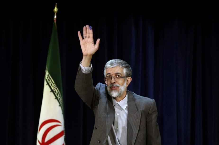 Gholam Ali Haddad Adel, conservateur. Il est l'actuel conseiller de l'ayatollah Ali Khamenei, guide suprême de la révolution en Iran. | 22 mai 2013