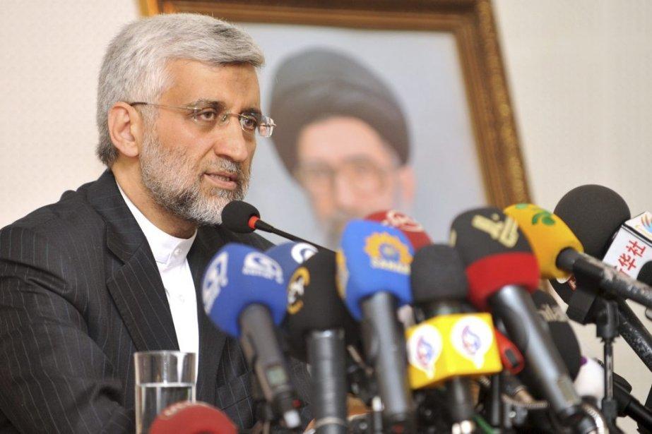 Saïd Jalili, 47 ans, actuel chef des négociateurs et représentant direct du Guide suprême iranien Ali Khamenei dans le dossier nucléaire. Il est considéré comme un candidat conservateur. | 22 mai 2013