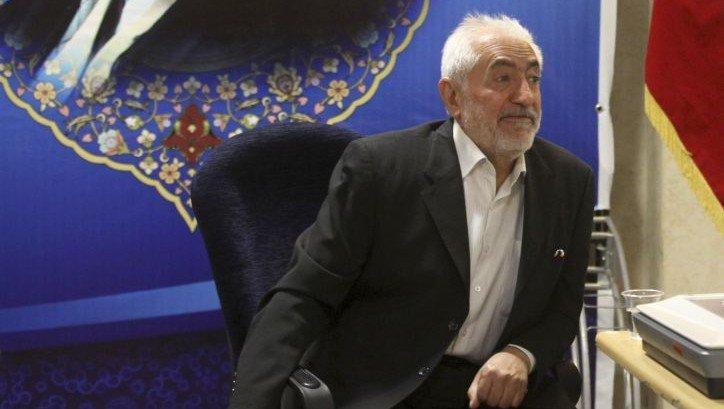 Mohammad Gharazi, candidat conservateur et ministre des Télécommunications de 1985 à 1997 sous la présidence de Akbar Hachémi Rafsandjani. | 22 mai 2013