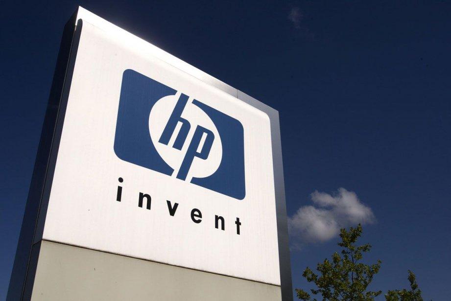 Le groupe informatique américain HP est repassé dans le... (Photo Reuters)
