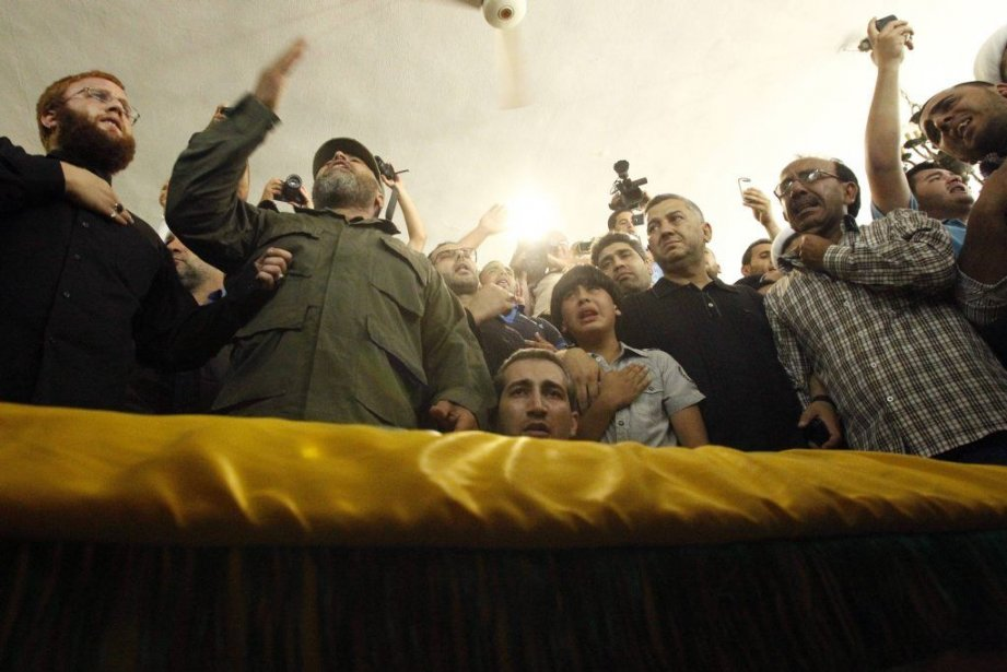 Des sympathisants du Hezbollah.... (Photo Reuters)