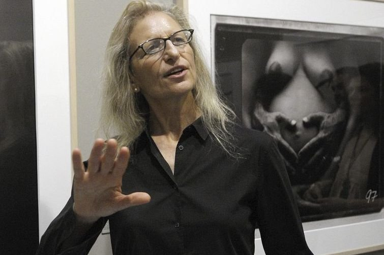 La photographe Annie Leibovitz... (Photo: archives AFP)