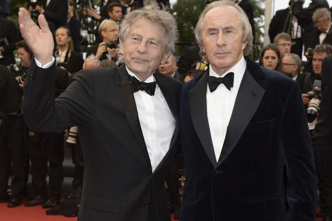 Roman Polanski et Jackie Stewart... (Photo: AFP)