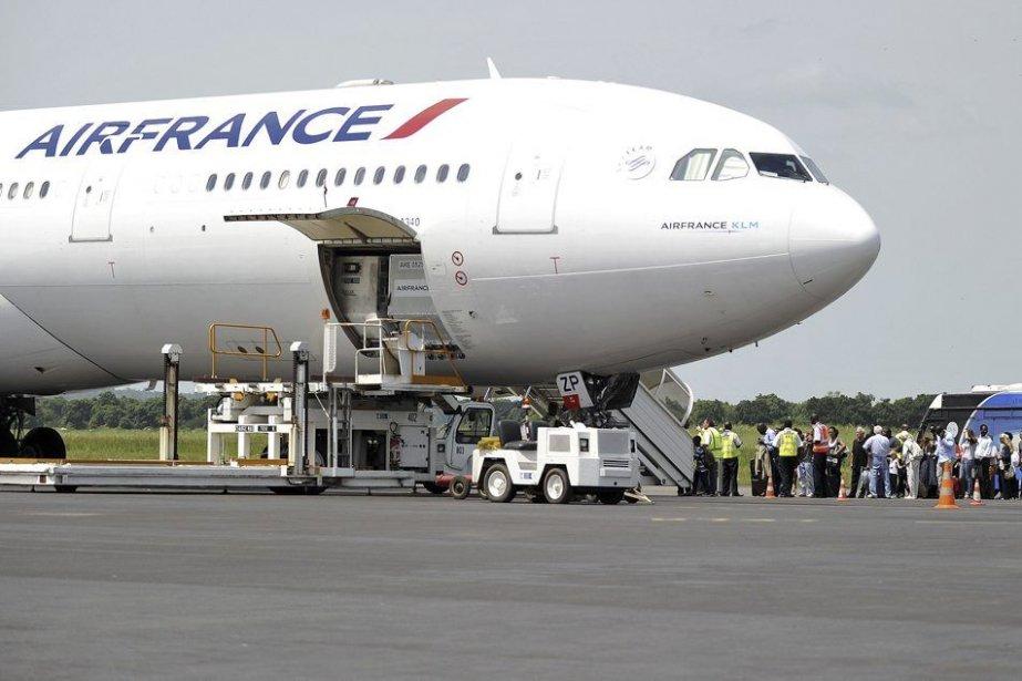 Les passagers qui volent en classe... (Photo Sia Kambou, Agence France-Presse)