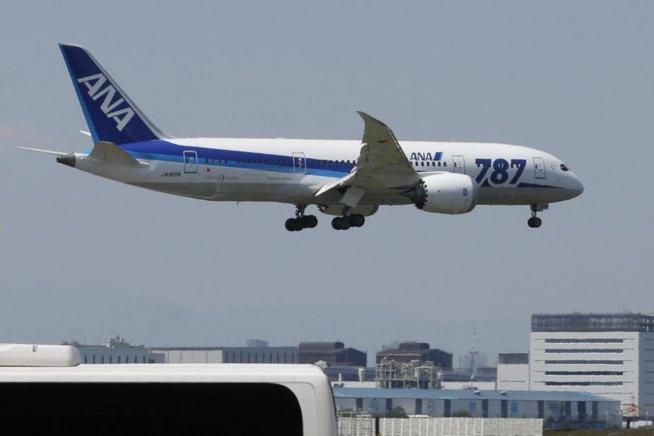 Un Boeing 787 de la compagnie Nippon Airways.... (Photo Shizuo Kambayashi, AP)