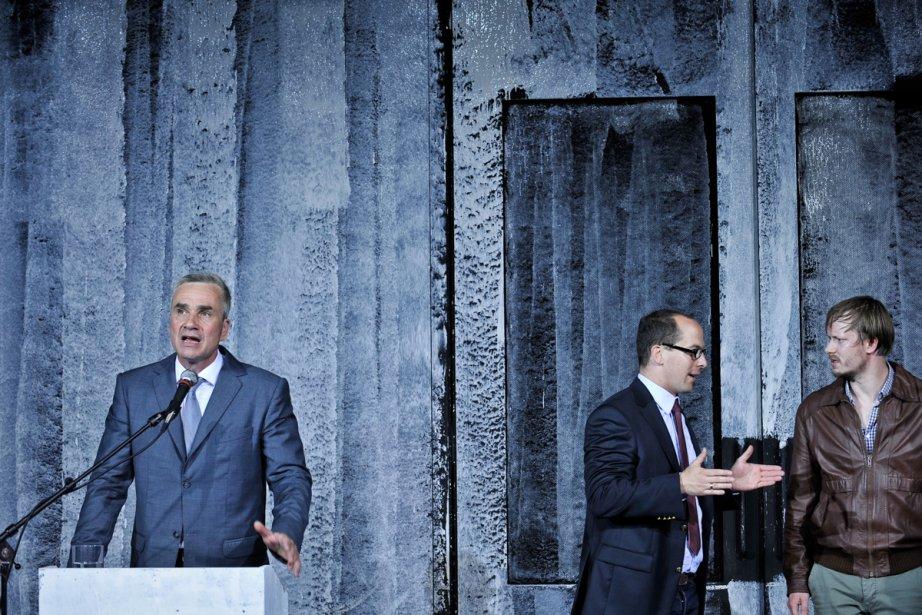 Un ennemi du peuple, mis en scène parl'Allemand... (Photo: fournie par le FTA)