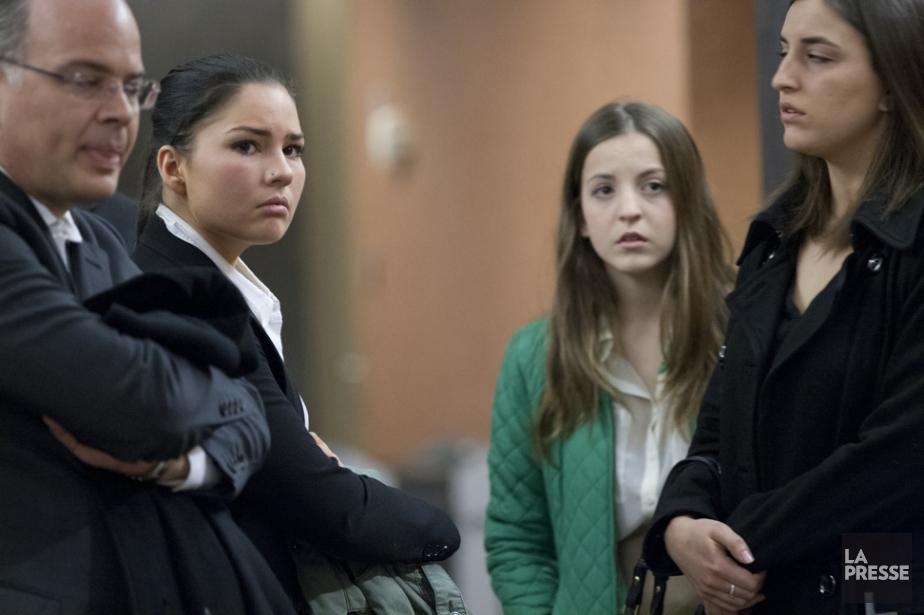Deux des trois victimes de Laurent Raymond, Evelyne... (Photo David Boily, La Presse)