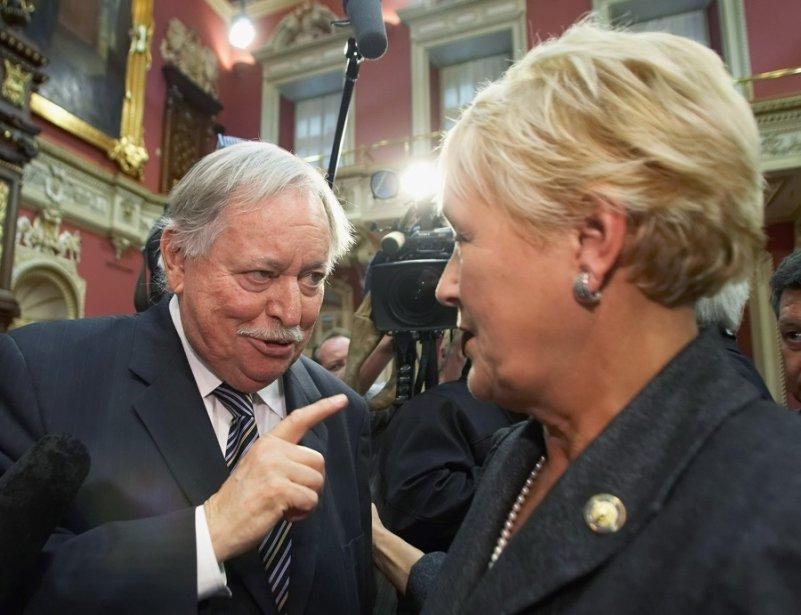 Jacques Parizeau a raison de mettre en garde... (Photo Jacques Boissinot, La Presse Canadienne)
