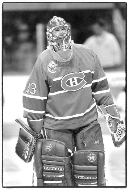 Patrick Roy, gardien du Canadien de Montréal en 1993 (Archives Le Soleil)