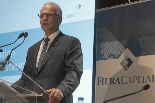 Jean-Guy Desjardins, PDG de Fiera Capital....