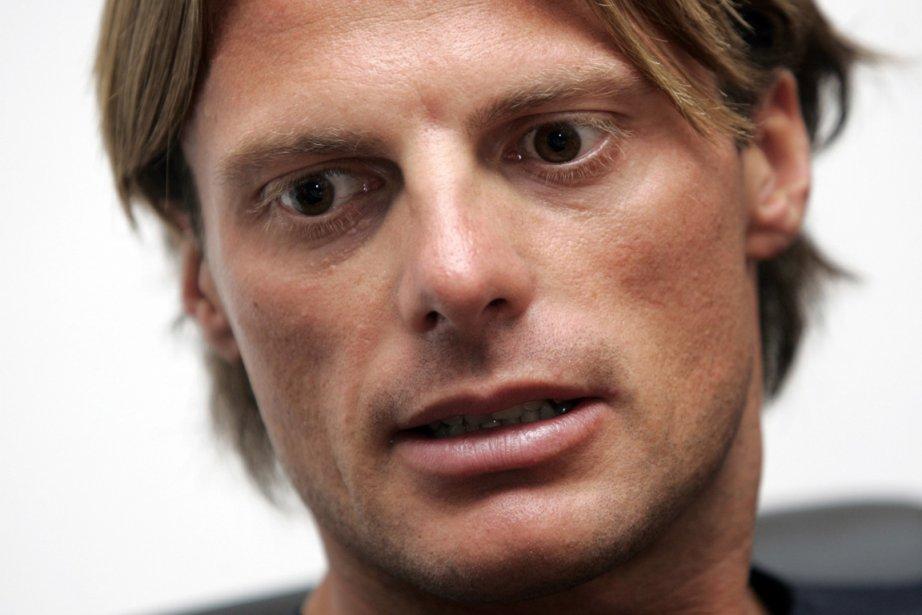 En 2007, après avoir gagné le Giro, Danilo... (Photo : Riccardo De Luca, archives AP)