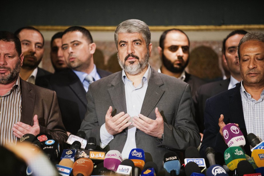 Le chef en exil du Hamas, Khaled Mechaal,... (PHOTO GIANLUIGI GUERCIA, ARCHIVES AFP)