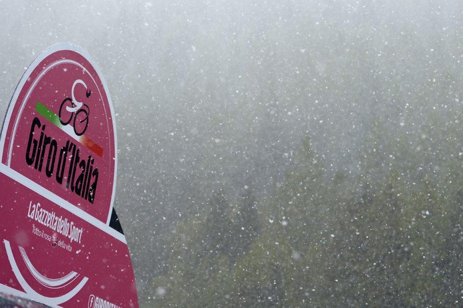 La 19e étape avait déjà été  modifiée... (Photo : Fabio Ferrari, AP)