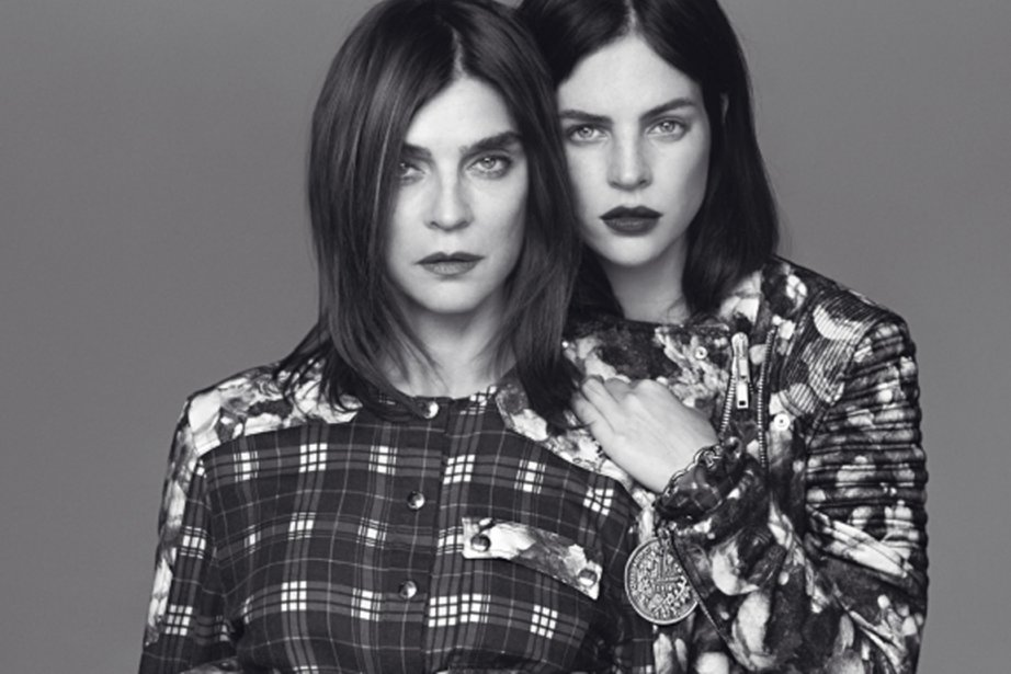 Carine Roitfeld et Julia Restoin Roitfeld pour Givenchy...