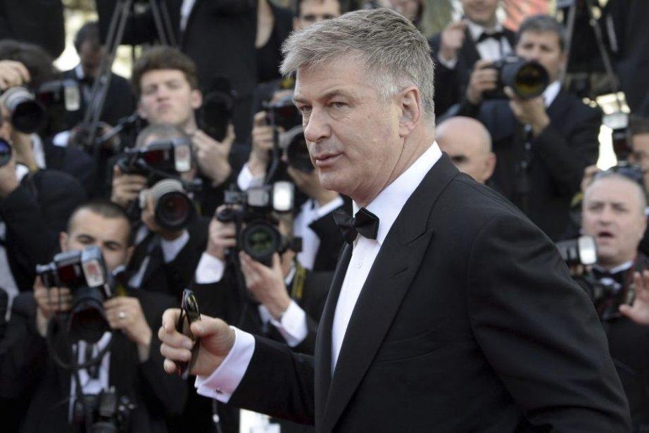 Alec Baldwin à Cannes... (Photo: AFP)