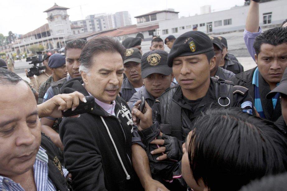 Alfonso Portillo est le premier ex-chef d'État latino-américain... (PHOTO AFP/STR)