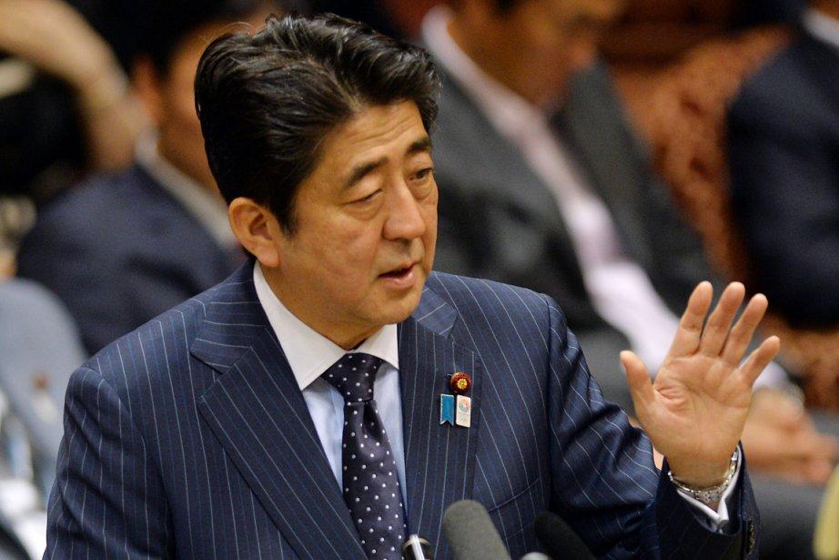 Le premier ministre du Japon, Shinzo Abe.... (PHOTO YOSHIKAZU TSUNO, AFP)