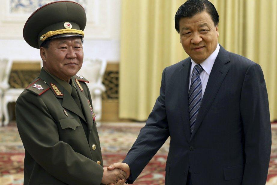 L'émissaire de Kim Jong-Un,Choe Ryong-Hae, a rencontré jeudiLiu... (PHOTO CHINA DAILY, REUTERS)