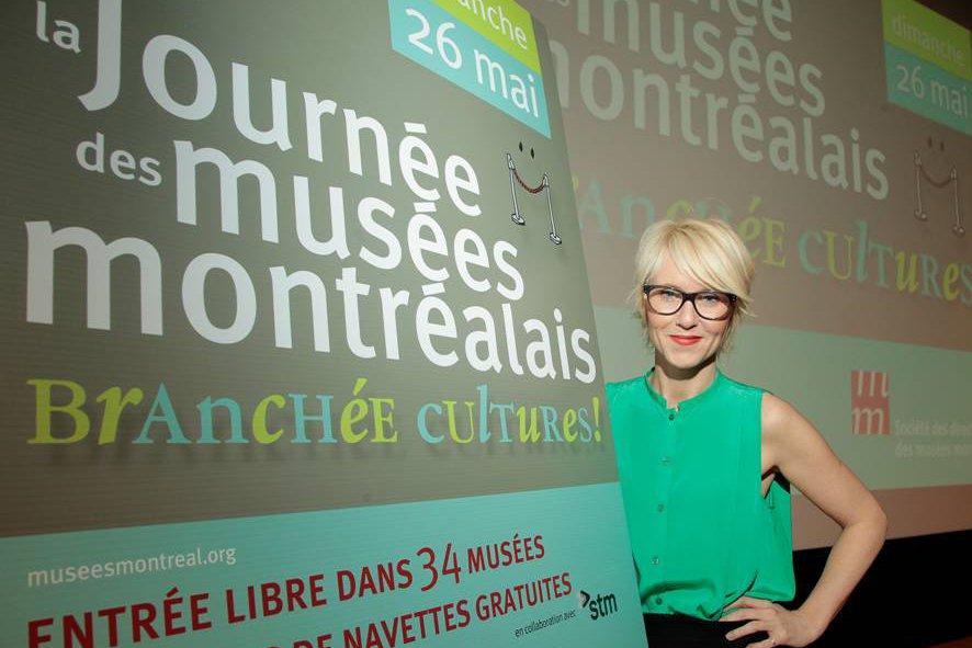 Pénélope McQuade, porte-parole de la Journée des musées... (Photo: Charles-Henri Debeur)