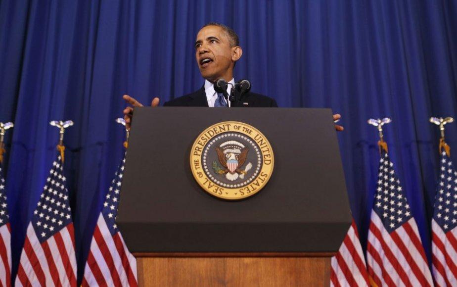 Barack Obama a bel et bien annoncé la... (Photo LARRY DOWNING, Reuters)
