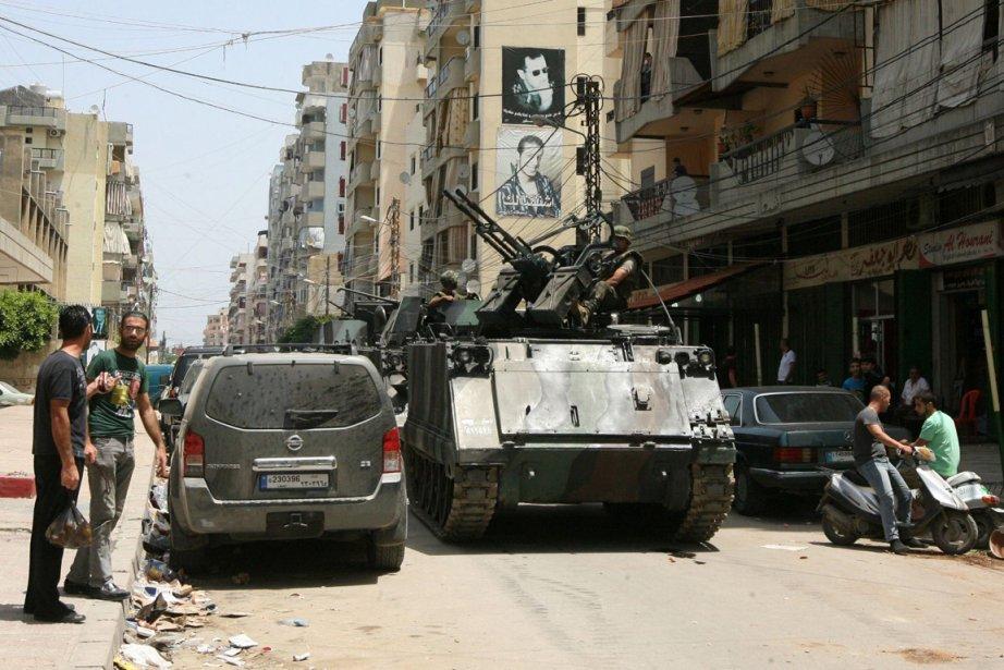Les combats entre partisans et opposants du régime... (PHOTO GHASSAN SWEIDAN, AFP)
