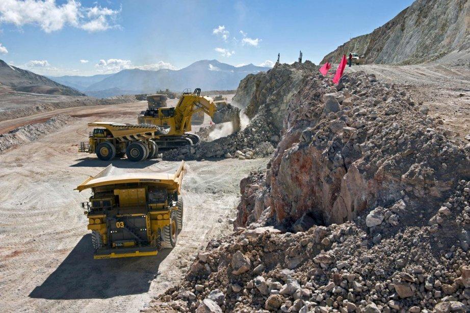 Vuede la mine de Pascua Lama.... (Photo Archives Reuters)