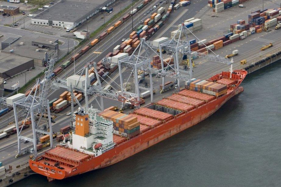 Le port de Montréal.... (PHOTO DAVID BOILY, LA PRESSE)