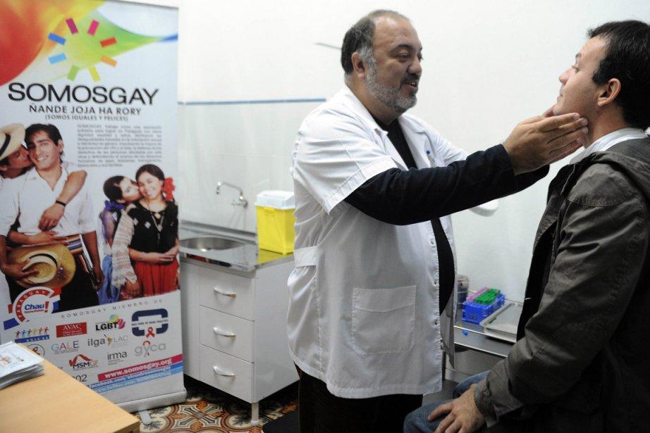 Ivan Allende , le directeur de la clinique... (Photo Norberto Suarte, AFP)