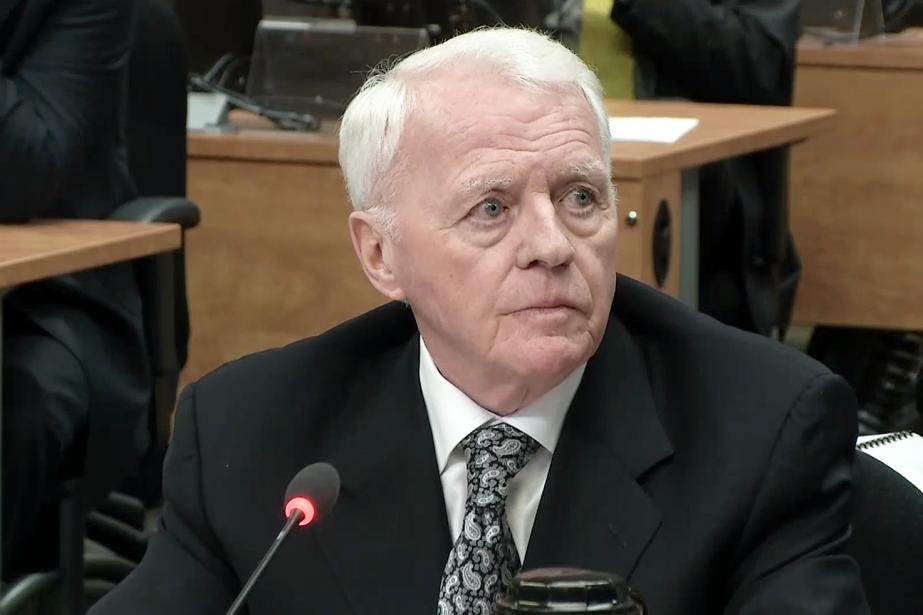Gilles Cloutier est accusé de«salissage éhonté» par la... (Photo tirée d'un vidéo, La Presse)