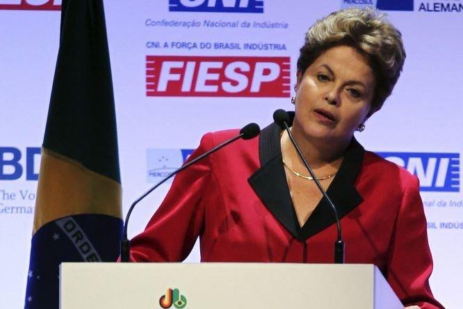 La présidente du Brésil,Dilma Rousseff.... (Photo Paulo Whitaker, Reuters)