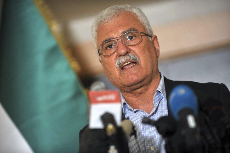 Le président du Conseil national de la Syrie,... (Photo Ozan Kose, Agence France-Presse)