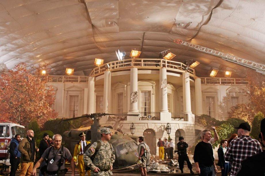 Pour les besoins de la production, la Maison-Blanche... (PHOTO FOURNIE PAR LA PRODUCTION)