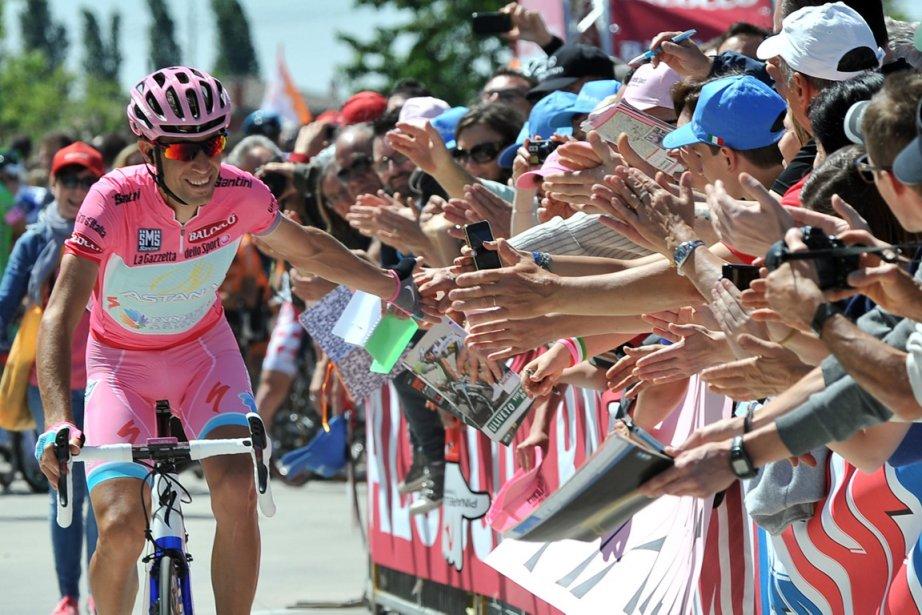 En tête du Tour d'Italie après la 8e... (Photo : Gian Mattia D'Alberto, AP)