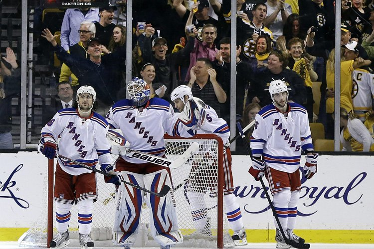 Les Rangers n'ont inscrit que 10 buts durant... (Photo: AP)