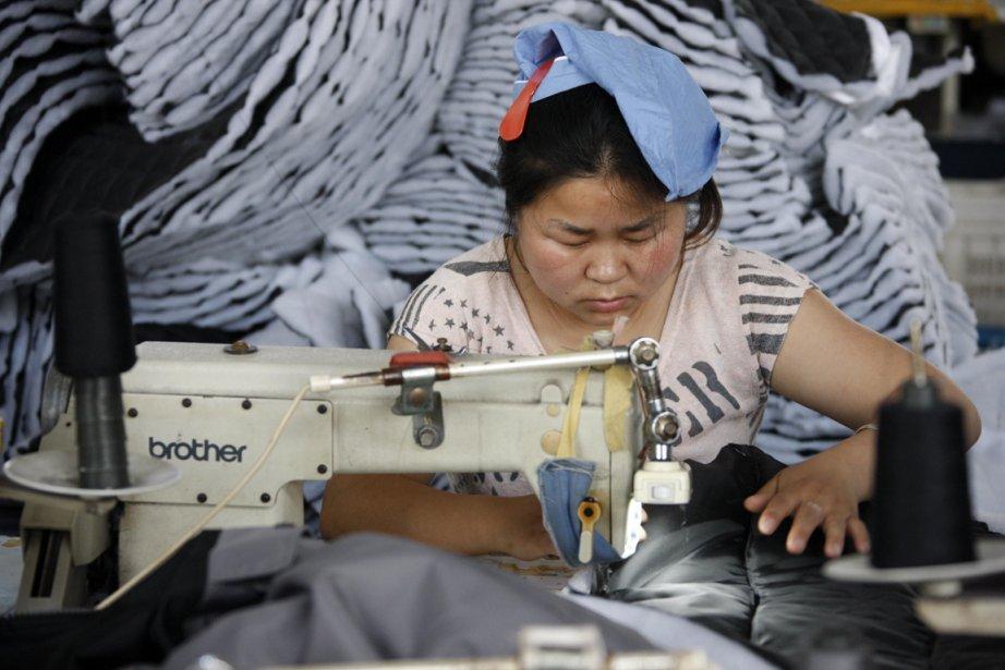 Selon la banque HSBC, l'activité manufacturière chinoise s'est... (Photo Agence France-Presse)