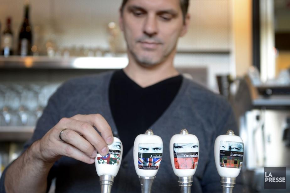 Quelques-unes des bières offertes en fût chez Brasseur...