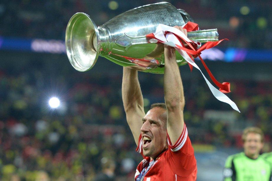 Franck Ribéry a remporté la finale de la... (Photo Patrik Stollarz, AFP)